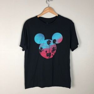 Neff Disney Collection Mickey Mouse Black T Shirt